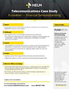 Helm Case Study Fundation
